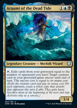Araumi of the Dead Tide (Foil / Commander Legends)