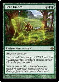 Bear Umbra (Rise of the Eldrazi)