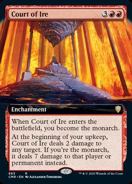 Court of Ire (Foil / Ext Art / Commander Legends)