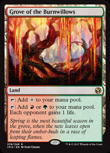 Grove of the Burnwillows (Foil / Iconic Masters)