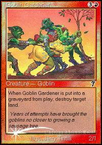 Goblin Gardener (Foil / 7th)