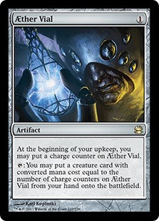 Aether Vial (Modern Masters 2013)