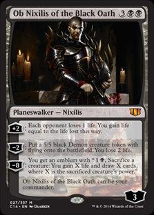Ob Nixilis of the Black Oath (Commander 2014)