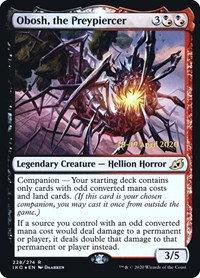 Obosh, the Preypiercer (Prelease Foil / Ikoria - Lair of Behemoths)