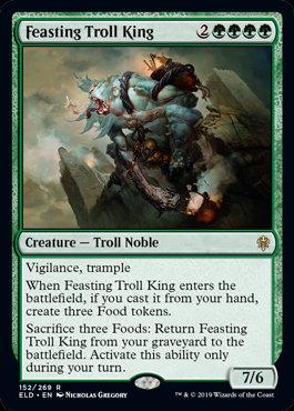 Feasting Troll King (Throne of Eldraine)