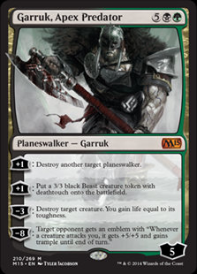 Garruk, Apex Predator (CoreSet 2015)