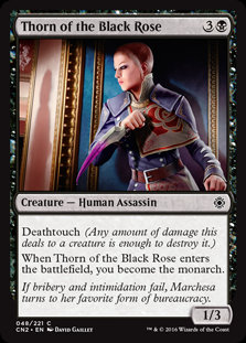 Thorn of the Black Rose (Foil / Conspiracy - Take the Crown)