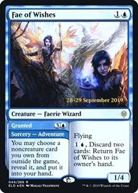 Fae of Wishes (Prerelease Foil / Throne of Eldraine)