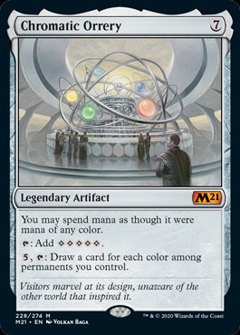 Chromatic Orrery (CoreSet 2021)