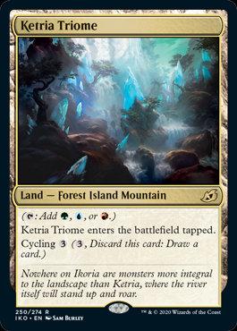 Ketria Triome (Ikoria - Lair of Behemoths)