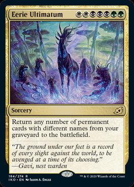 Eerie Ultimatum (Ikoria - Lair of Behemoths)