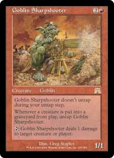 Goblin Sharpshooter (Onslaught)