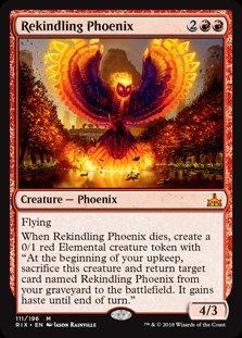Rekindling Phoenix (Rivals of Ixalan)