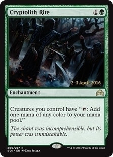 Cryptolith Rite (Prerelease Foil / Shadows over Innistrad)