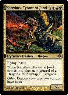 Karrthus, Tyrant of Jund (Alara Reborn)