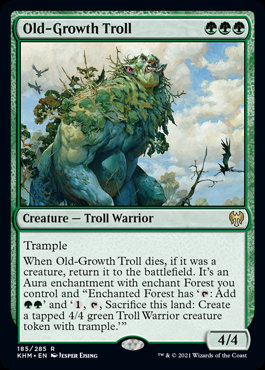 Old-Growth Troll (Kaldheim)