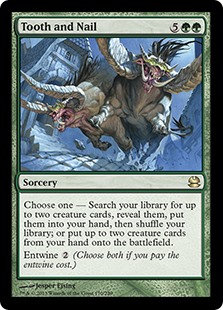 Tooth and Nail (Modern Masters 2013)