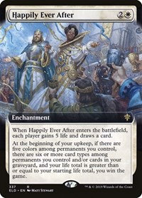 Happily Ever After (Ext Art / Throne of Eldraine)