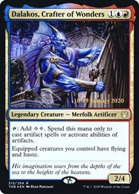 Dalakos, Crafter of Wonders (Prerelease Foil / Theros Beyond Death)