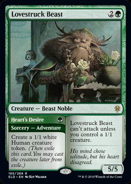 Lovestruck Beast (Throne of Eldraine)