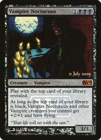 Vampire Nocturnus (Prerelease Foil / CoreSet 2010)