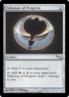 Talisman of Progress (Foil / Mirrodin)