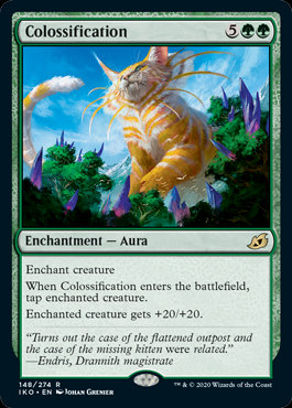 Colossification (Foil / Ikoria - Lair of Behemoths)