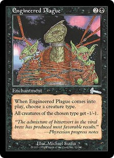 Engineered Plague (Foil / Urza's Legacy)
