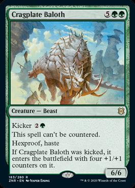 Cragplate Baloth (Zendikar Rising)