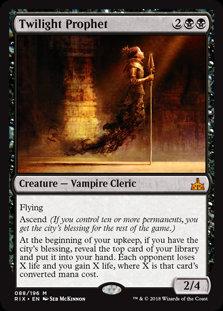 Twilight Prophet (Rivals of Ixalan)