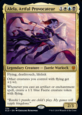 Alela, Artful Provocateur (Throne of Eldraine)