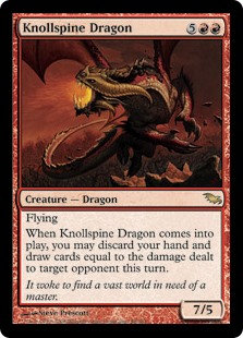 Knollspine Dragon (Shadowmoor)