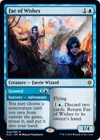 Fae of Wishes (Stamped / Throne of Eldraine)