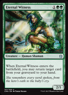 Eternal Witness (Commander Anthology)