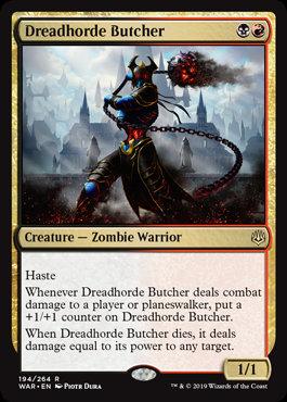 Dreadhorde Butcher (War of the Spark)