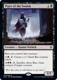 Piper of the Swarm (Prerelease Foil / Throne of Eldraine)