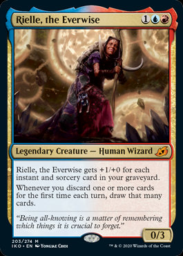 Rielle, the Everwise (Ikoria - Lair of Behemoths)