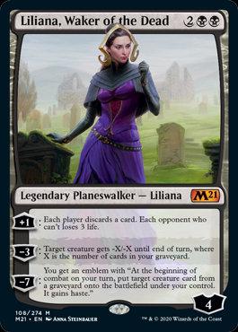 Liliana, Waker of the Dead (CoreSet 2021)