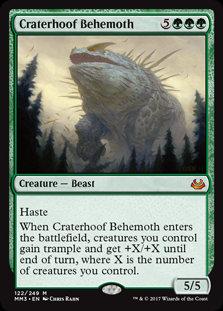 Craterhoof Behemoth (Modern Masters 2017)