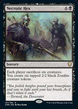 Necrotic Hex (Commander Legends)