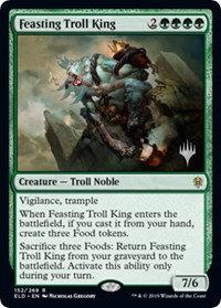 Feasting Troll King (Stamped / Throne of Eldraine)