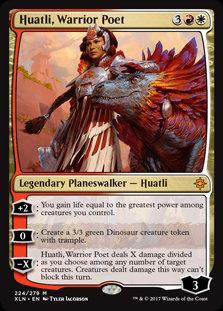 Huatli, Warrior Poet (Ixalan)