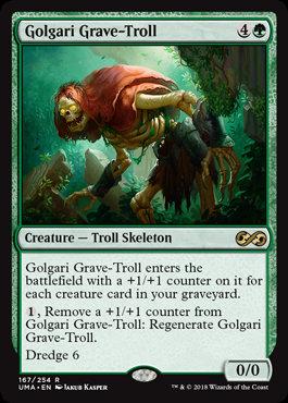 Golgari Grave-Troll (Foil / Ultimate Masters)