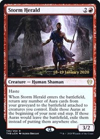 Storm Herald (Prerelease Foil / Theros Beyond Death)