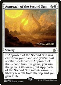 Approach of the Second Sun (Prerelease Foil / Amonkhet)