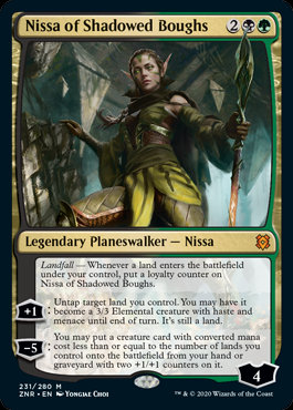 Nissa of Shadowed Boughs (Zendikar Rising)