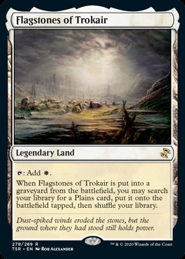 Flagstone of Trokair (Foil / Time Spiral Remastered)