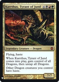Karrthus, Tyrant of Jund (Foil / Mystery Booster)