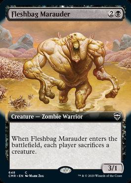 Fleshbag Marauder (Ext Art / Commander Legends)
