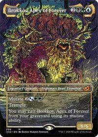 Brokkos, Apex of Forever (Alt Art / Ikoria - Lair of Behemoths)